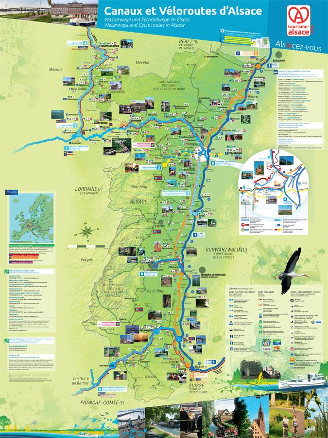 Carte Touristique Alsace Du Nord.Infra Blog Realisation De Documents De Communication Pour