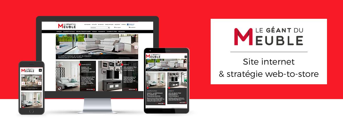 Infra Blog Le Geant Du Meuble Site Internet Et Strategie Web To Store